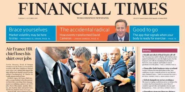 Des dirigeants d'Air France, la chemise déchirée, enjambant une haute grille pour fuir des salariés en colère: les images de l'épisode de lundi ont fait le tour du monde.