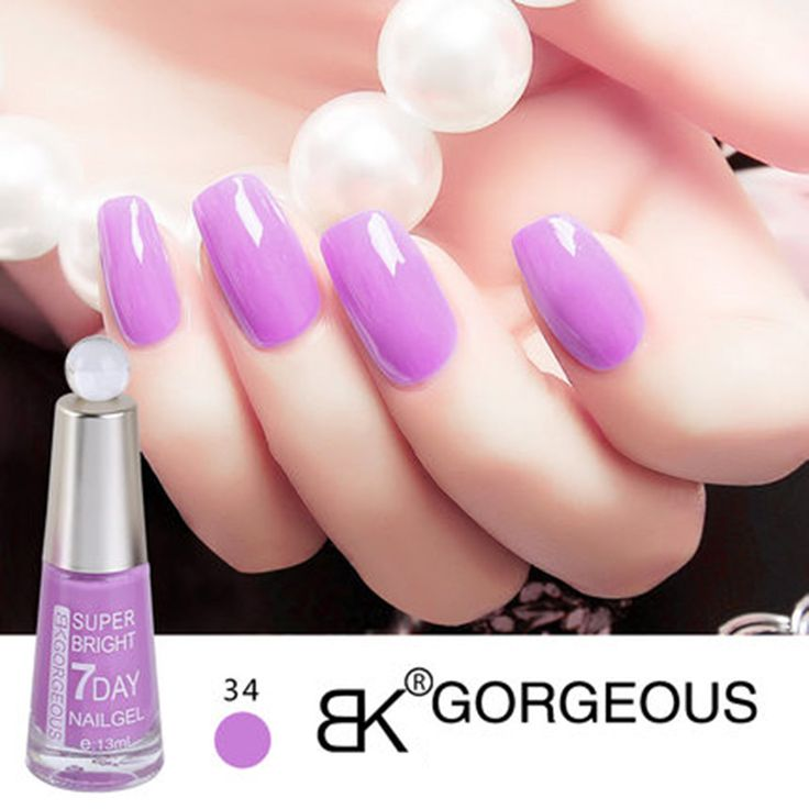 13ML BK Brand Long-Lasting 7 Days Nail Polish Quickly Dry Lacquer 48 Color Professional Nail Art  Paint Enamel Cosmetics