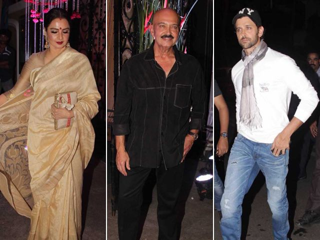 Inside Rakesh Roshan's Star-Studded Birthday Party - NDTV #757Live