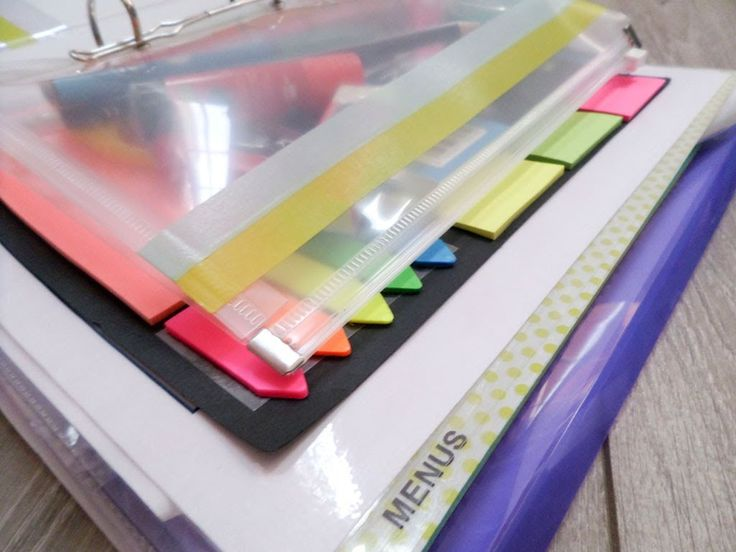 M s de 1000 ideas sobre archivadores escolares en - Ideas para organizar papeles en casa ...