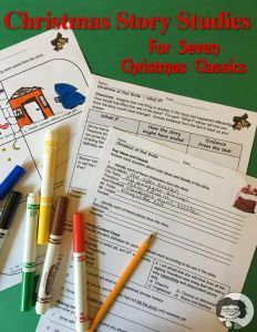 Christmas Story Studies - story questions plus two additional activities for each of seven classic stories for the holiday season.
