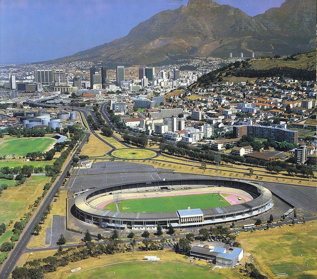 Green Point stadium 1985