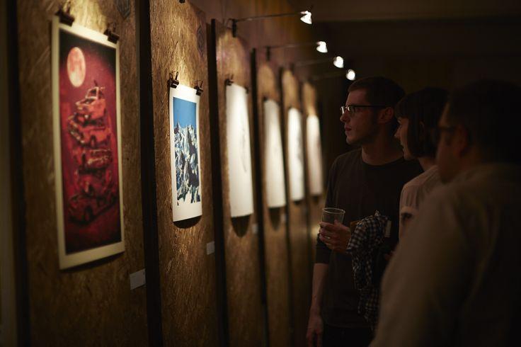 96 Editions flock launch night @ The Storeroom, Newcastle upon Tyne. Buy online art.96editions.com