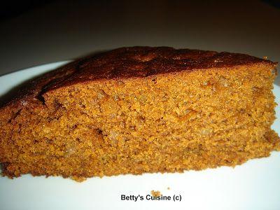 Δείτε τη συνταγή απο Betty's Cuisine Ενα αφράτο, ελαφρά σπογγώδες κέικ, νόστιμο, χορταστικό, υγ