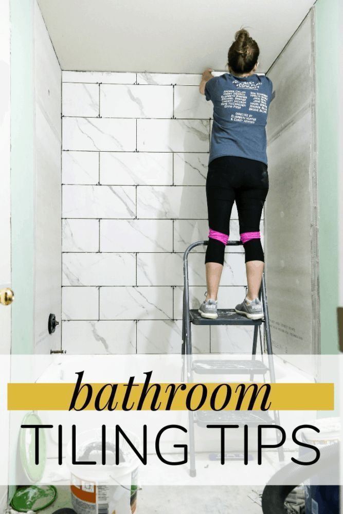 Tips And Tricks For Making Your Next Bathroom Tiling Job Easier