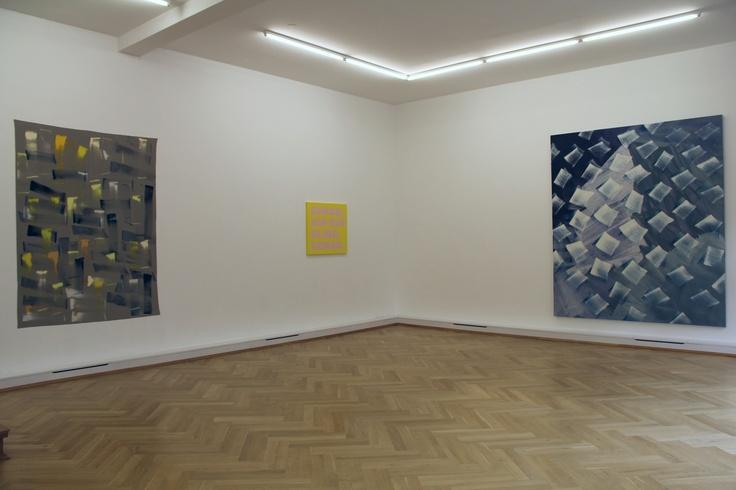 Ingo Meller, Remy Zaugg and Robert Zandvliet artworks at Bernhard Knaus Fine Art, Frankfurt, Germany