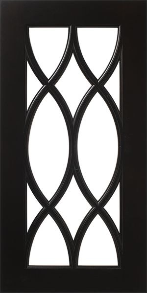 French Mullion Lite Pattern Cabinet Door for Glass | WalzCraft ... this would go well with the Moroccan tile design on the wallpaper!!!