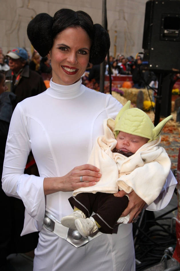 Natalie Morales and Son Luke: Super Cute Mother/Son Halloween Costumes.