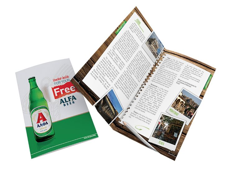 Alpha Beer Brochure