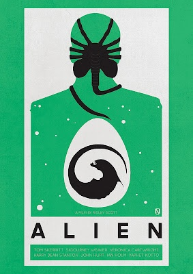 Another great Alien movie poster, you may of guessed I like Aliens.