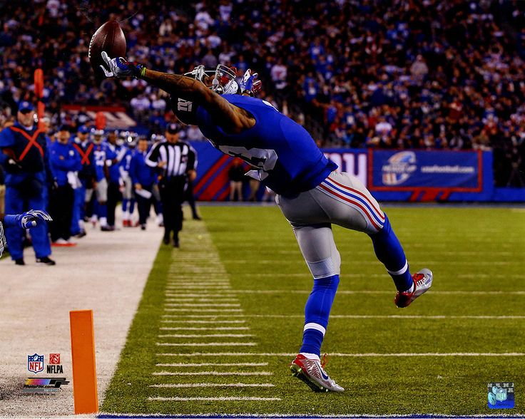 Odell Beckham Jr. Close Up One-Handed Catch 16x20 Photo (PF #AARM187)