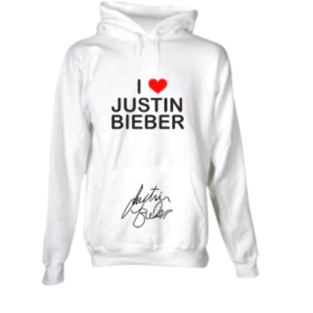 Justin Bieber sweatshirt :)