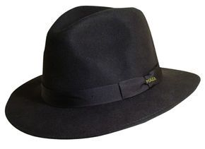fdb15df0a4593 Scala Men s Chocolate Wool Felt Safari Hat