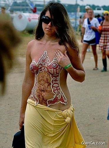 X Rated Body Painted