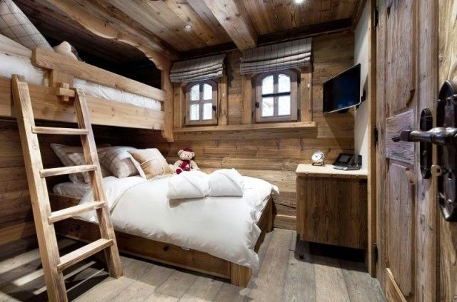 chalet bedroom interior
