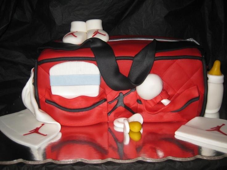 Michael Jordan Diaper Bag