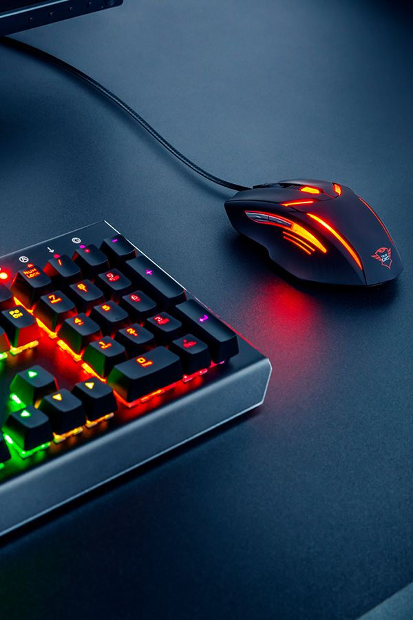 Mechanical Gaming Keyboard With Quick Responding Switches And Customizable Per Key Rgb Led Illumination And Accurate 2 Keyboard Gaming Mouse Gaming Accessories