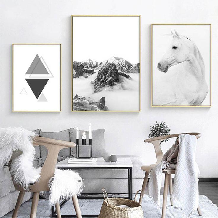 Постеры для печати в высоком разрешении скандинавский стиль