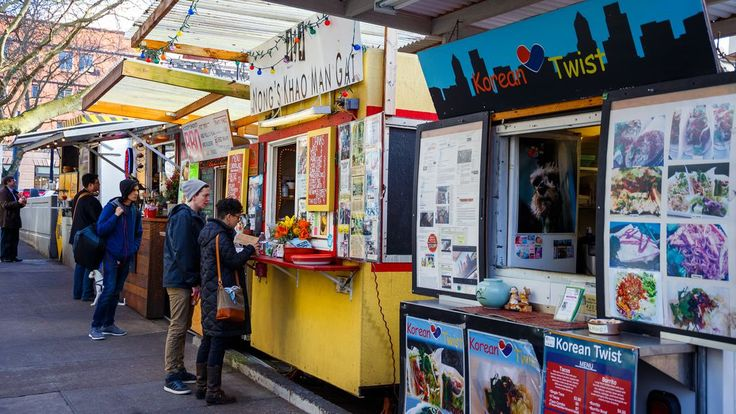 Where To Eat In Portland S Hottest Neighborhoods With Images Best Food Trucks Portland Food Trucks Portland Food