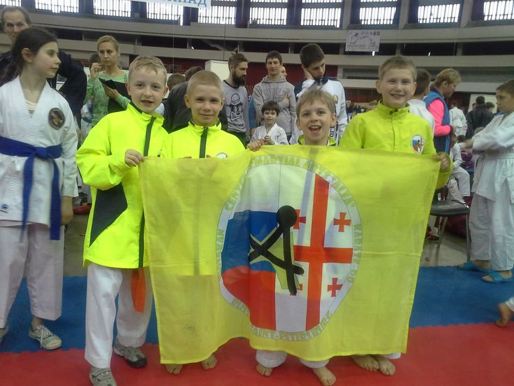 "Karate WKF Olympic Games of martial arts ""East-West"" St. Petersburg, Russia"