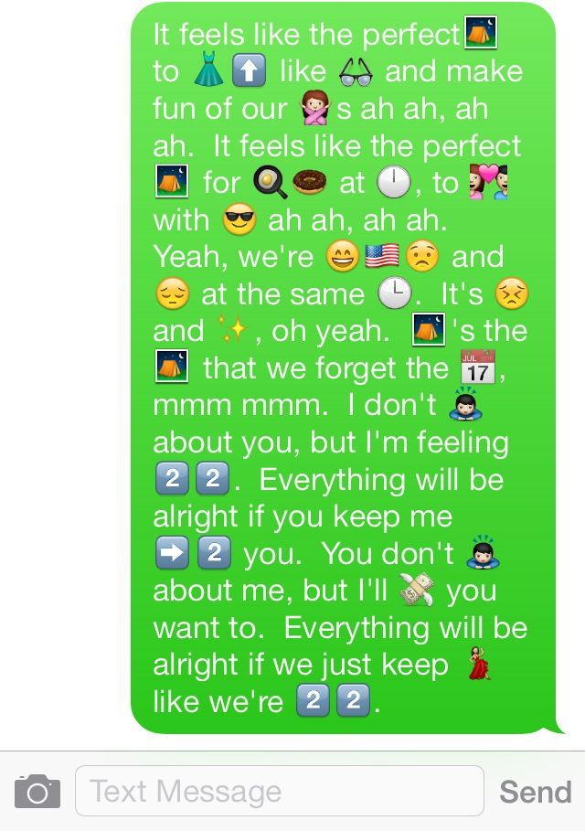 Cute Emoji Texts To Send Your Girlfriend