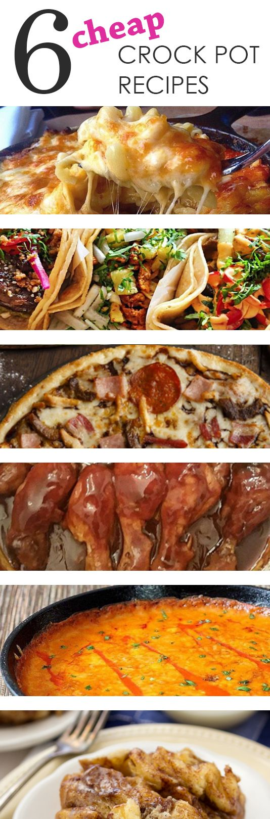 6 Cheap Crock Pot Recipes...