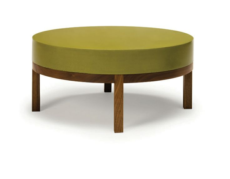 Round Thick Top Table #1 By Peter Sandback | Dennis Miller Associates.  #coffeetable