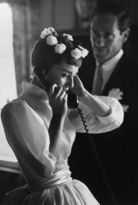 Audrey Hepburn #wedding