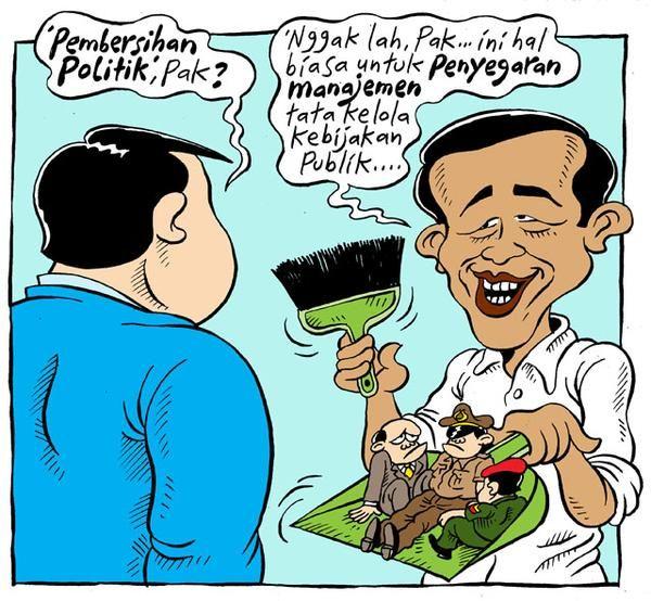 Mice Cartoon, Rakyat Merdeka - Januari 2015: Pembersihan Politik?