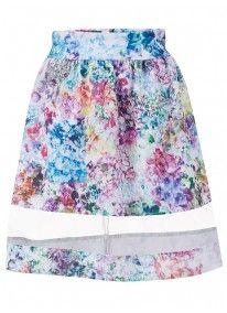 Pretty Posey Skirt Multi-colour
