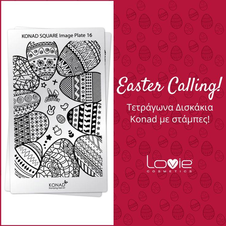 Το Πάσχα πλησιάζει και προτείνουμε πασχαλινή ...διακόσμηση ακόμα και στο μανικιούρ! #loviecosmetics #nails #easterdesigns