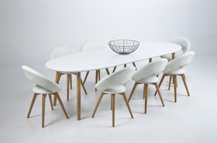 17 meilleures id es propos de table rallonge sur pinterest table basse en - Table style nordique ...