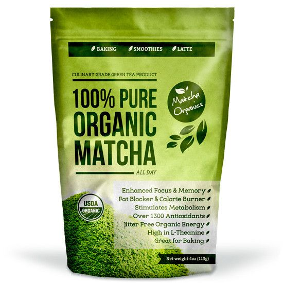 USDA Organic Culinary Matcha Green Tea Powder - 4oz / 113 Grams