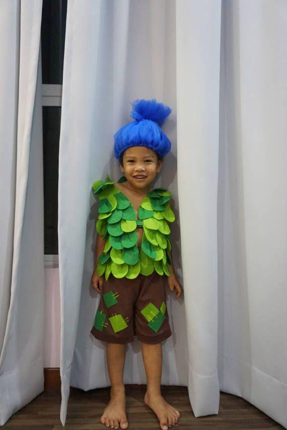 Rama Troll inspirado traje de película Trolls por Sabbytia en Etsy