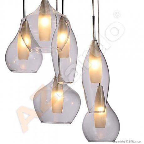 Lampa wisząca Milano MD2098-6C