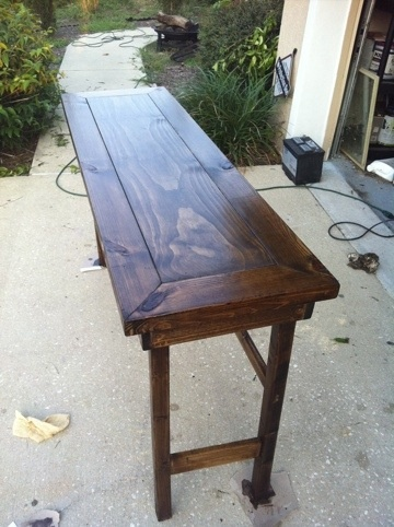 17 best images about for barbara on pinterest serving - Dining table against the wall ...