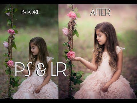 Soft Spring Edit Using Lightroom & Photoshop (Tutorial) - YouTube