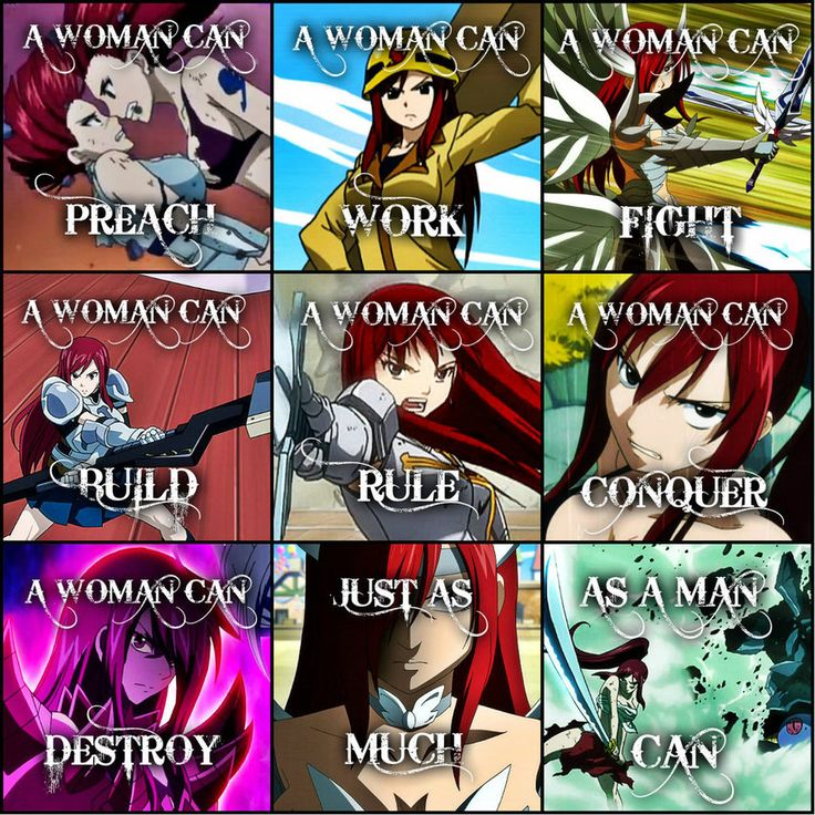 Fairy Tail .:A Woman Can:. Erza Scarlet by Flames-Keys on deviantART