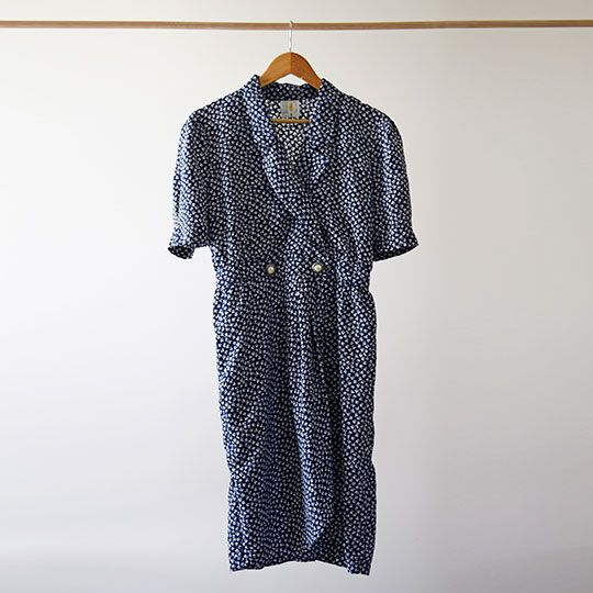 Made By Mee + Co | Blue Crossover Dress
