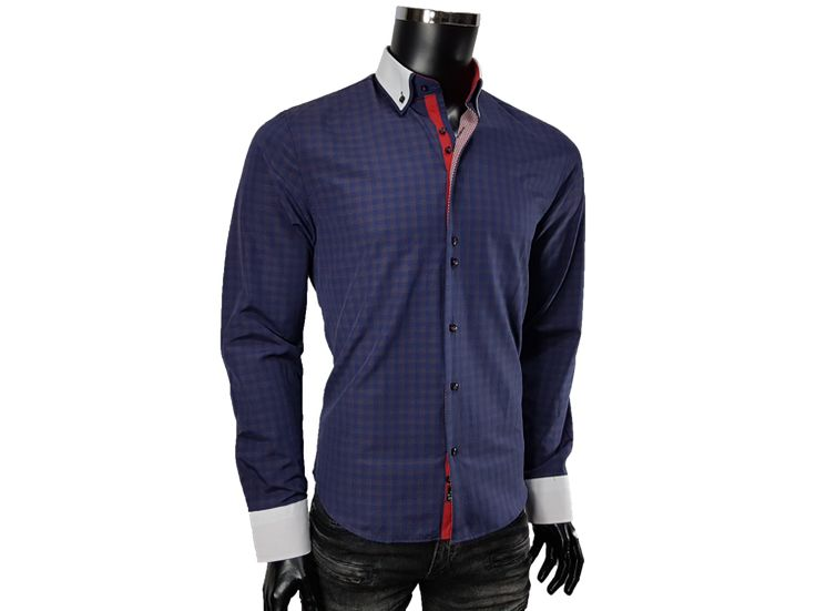 Koszula slim fit - - Koszule męskie - Awii, Odzież męska, Ubrania męskie, Dla mężczyzn, Sklep internetowy