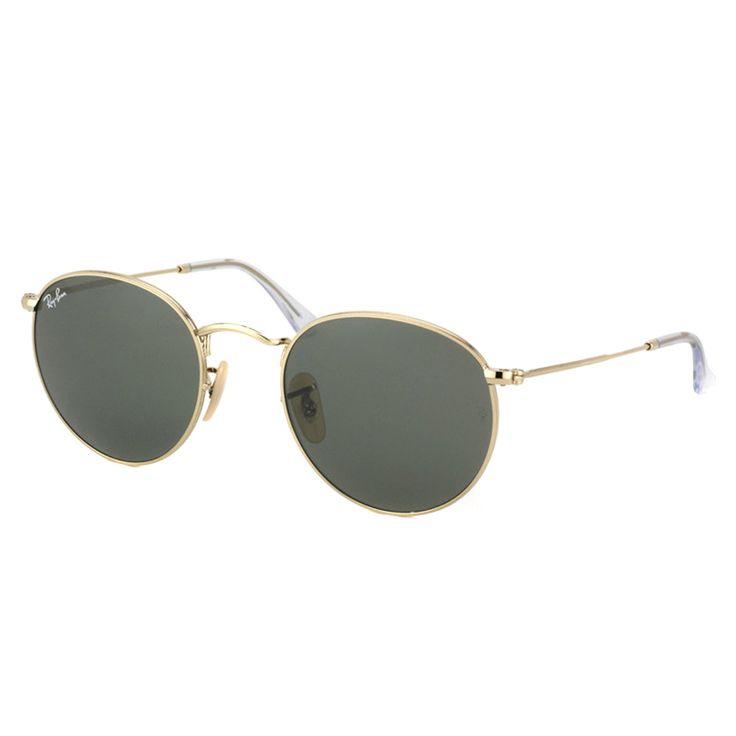 Ray-Ban Round RB 3447 001 Arista Round Sunglasses - 50mm