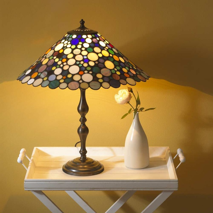 this was a bit of a Tutti Fruiti, probably inspired by Klimt. try as we may, we cannot source this lamp. Any one with information as to the whereabouts of this lamp, Call Martin @ 087-6820-746