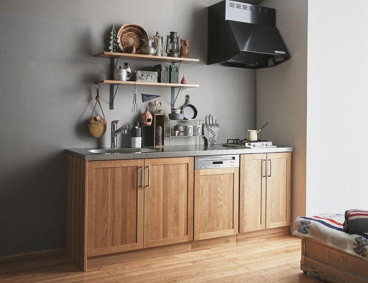 ウッドワン、無垢扉キッチンにコンパクトタイプを追加 | 住宅ニュース:新製品:新建ハウジングDIGITAL(新建新聞社)