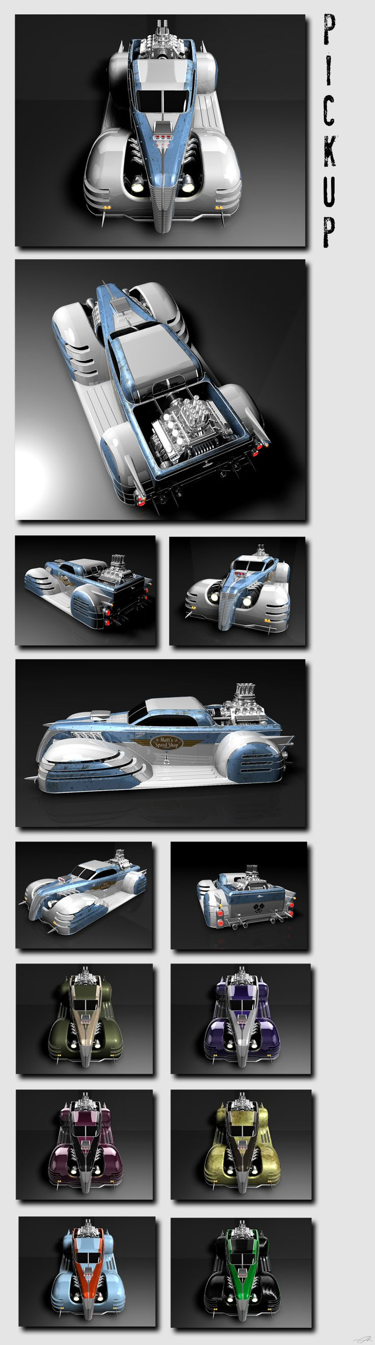 Mattel legends 1 24 1969 hot wheels twin mill concept car electronic - Update Better Rendering And Layout Modelled In Rhino Rendered In Cinema More Of This Car Ladydeuce