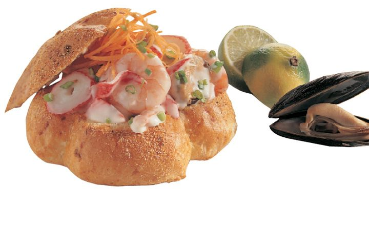 Broodje zeezicht