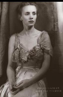 Jessica Tandy as Blanche DuBois. From A Streetcar Named Desire (1949) by Carl Van Vechten