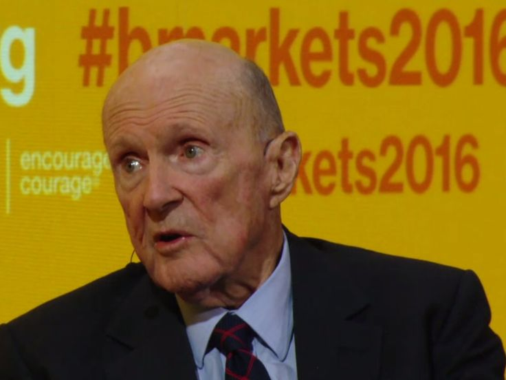 HEDGE FUND LEGEND JULIAN ROBERTSON: Everything is in a bubble and it will end in 'chaos'