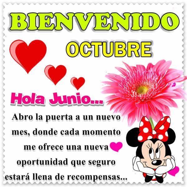 Imagenes de feliz mes de octubre - Musica - Hoy musica romantica