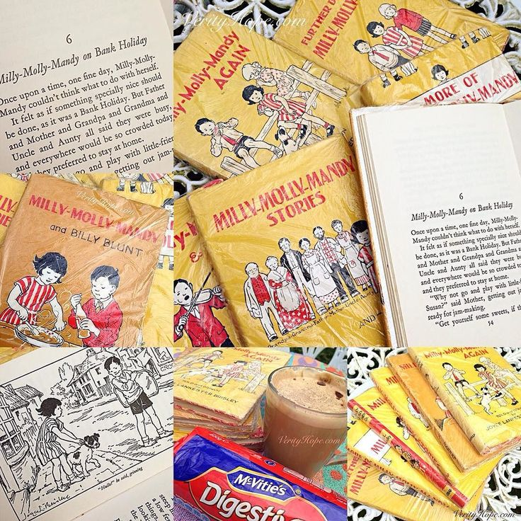 It's a Bank Holiday in England today and I intend to have one just like Milly-Molly-Mandy! #millymollymandy #vintagechildren #vintagechildrensbooks #verityhopesworld #vintagechildrensillustration