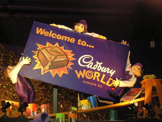 Cadbury World, Dunedin, NZ. Definitely a family favourite! Find more activities and attractions in Dunedin at http://www.aatravel.co.nz/new-zealand/Dunedin-District_What-to-See-Do.html